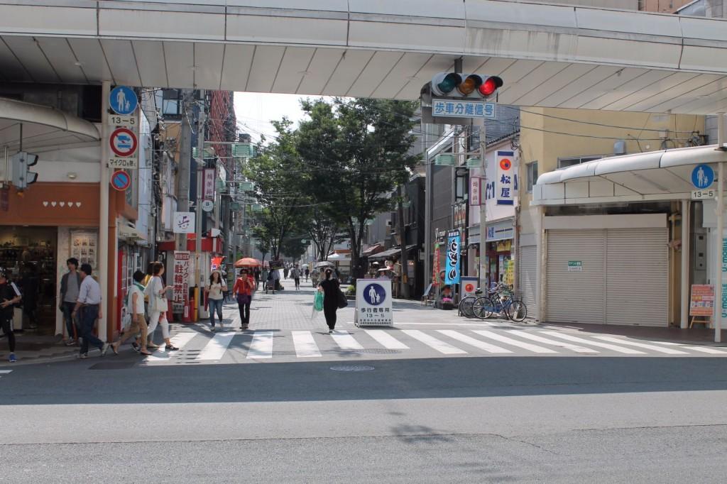 蛸薬師通を歩く~京都の東西の通りを歩く①~