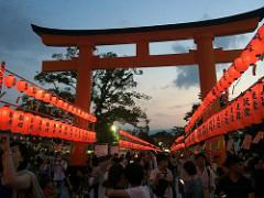 伏見稲荷本宮祭2016の時間と混雑は要チェック