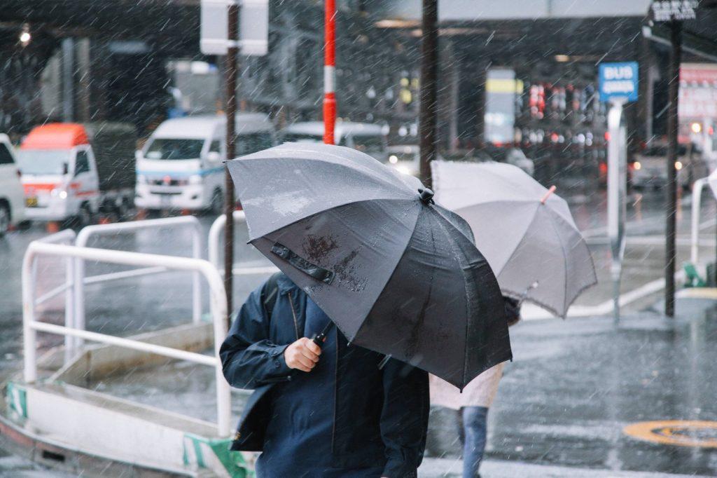 五月雨で 意味